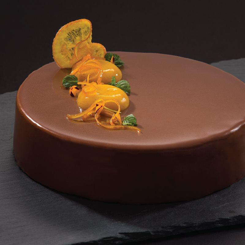 Blood Orange Creme Caramel Cake