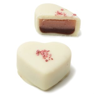 RASPBERRY HEART PRALINE