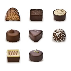 LUGANO PRALINE COLLECTION