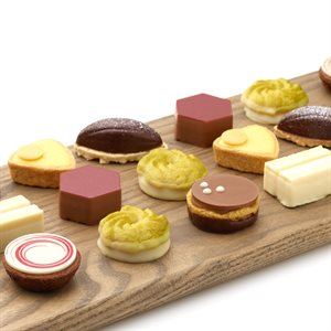 PETIT PASTRY, DULCE COLLECTION, 44  PIECES