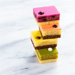 PETIT PASTRY, CARRÉ COLLECTION, 56 PIECES
