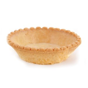 SCALLOPED-EDGE SWEET TARTLET, ROUND (2.8 IN / 7 CM)