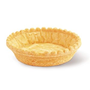 SCALLOPED-EDGE SAVORY SHELL, ROUND (3.5 IN / 9 CM)