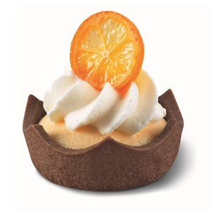 ROYAL STRAIGHT-EDGE CHOCOLATE TARTLET, ROUND (2 IN / 5 CM)