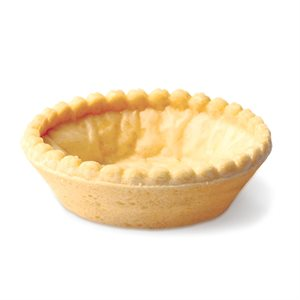 NEUTRAL / SUGAR-FREE TARTLET, ROUND (2.8 IN / 7 CM)