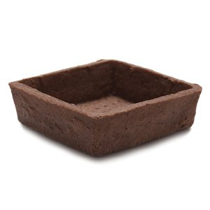 CHOCOLATE TARTLET, SQUARE (2.8 IN / 7 CM)