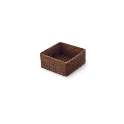 MINI FILIGRANO CHOCOLATE SQ 3.3CM, 225pcs