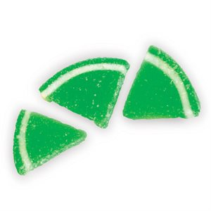 JELLY LIME SLICES, SMALL