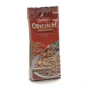 ORIGINAL SWISS MUESLI (PORTION PACKS)