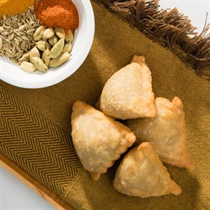 APP KANPUR VEGETABLE SAMOSA, 85 PCS