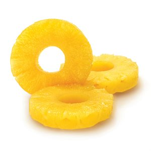 MINI PINEAPPLE RINGS IN SYRUP