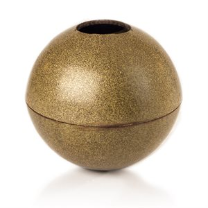 GOLD LUSTER SPHERE, DARK CHOCOLATE