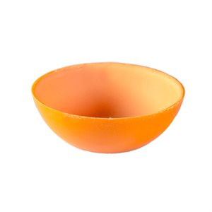 CHOCOLATE SMOOTH BOWL, ORANGE, 60X20MM,240PCS