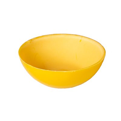 CHOCOLATE SMOOTH BOWL, YELLOW, 60X20MM,240PCS