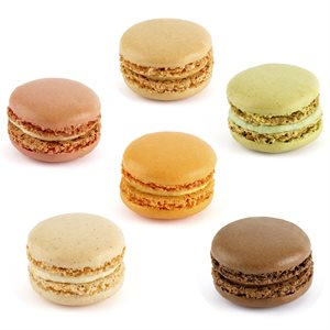 Macarons Collection #1 (6 Flavors)