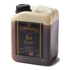 RUM CONCENTRATE, GELIFIED