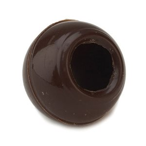 MINI TRUFFLE SHELL, SEMISWEET CHOCOLATE