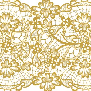 LACE PASTE, YELLOW GOLD