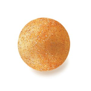 BALLS WHITE CHOC CRYSTALLISED GOLD Ø 2,6 CM
