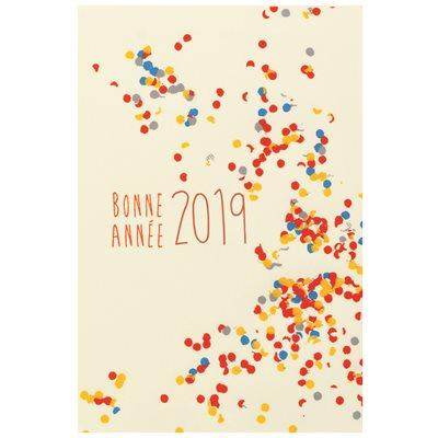 RECTS BB BONNE ANNÉE 2019 4X6 CM
