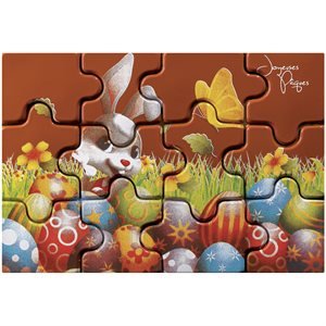 EGG FIELD BUNNY PUZZLE BLISTER TO FILL