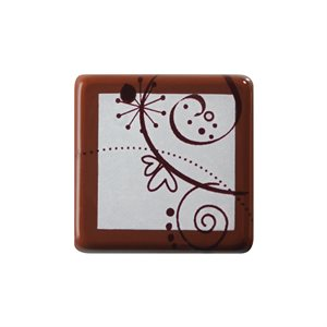 WHIMSY PLAQUETTE, DARK CHOCOLATE
