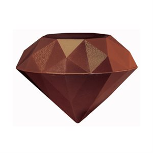 3D DIAMONDS, DARK CHOCOLATE