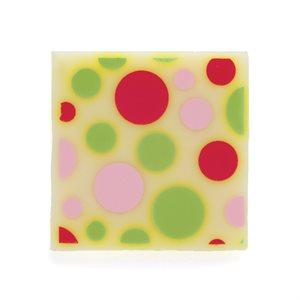 POLKA DOT PLAQUETTE, WHITE CHOCOLATE