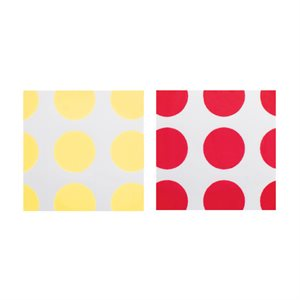 POLKA DOTS PLAQUETTE DUO, WHITE CHOCOLATE