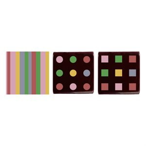 ASSORTED SQUARES, DARK CHOCOLATE