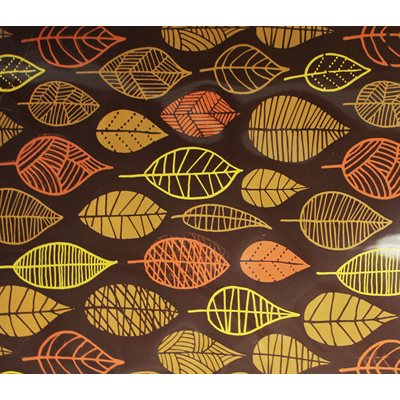 MODERN LEAVES TRANSFER SH, 17 PC