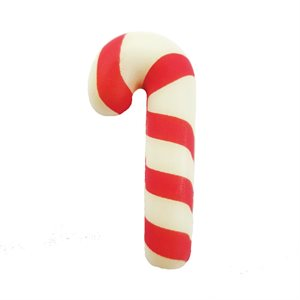 2D CANDY CANE, WHITE CHOCOLATE