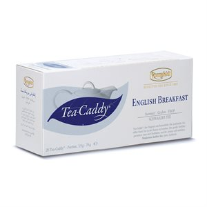 English Breakfast (Black Tea) Tea Caddy