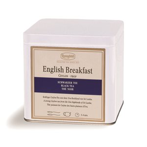 Buffet Tin For Loose Tea, White (250G)