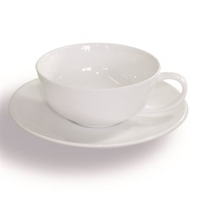 Cup with Saucer, Porcelain