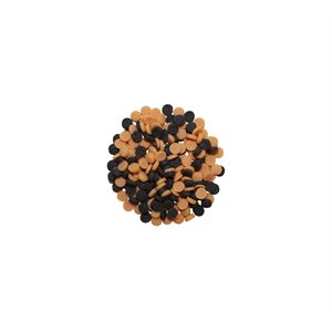 APIATTO BLACK AND ORANGE CONFETTI, SUGAR, 400G