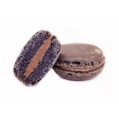 BLACKBERRY MACARONS (Single Flavor)