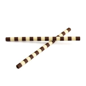 WHITE AND DARK CHOCOLATE MIKADO