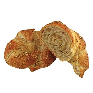 MULTIGRAIN LARGE ALL-BUTTER CROISSANT, CURVED
