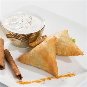 APP VEGAN CURRY SAMOSA, 200 PCS