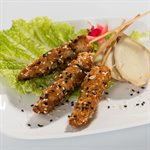 APP SESAME CHICKEN BROCHETTE, 156 PCS