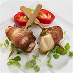 APP CHICKEN JALAPENO AND BACON BROCHETTE, 200 PCS