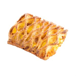 DANISH SAUSAGE EGG AND CHEESE LATTICE 3.3OZ, 68PC
