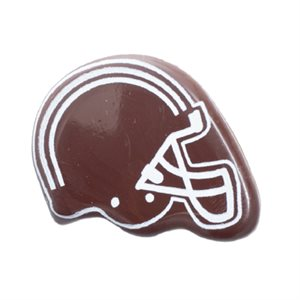FOOTBALL HELMET DARK CHOCO, 385PC