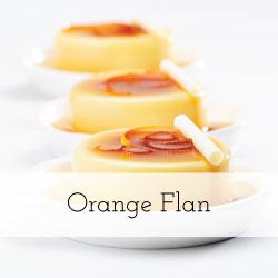 Orange-Flan