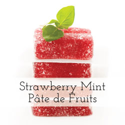 Strawberry And Rhubarb Pate De Fruit Recipe — Dishmaps